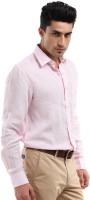 Yellow Tree Formal Shirts (Men's) - Yellow Tree Men's Solid Formal Pink Shirt