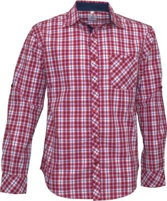 Darium Men's Checkered Casual Multicolor Shirt