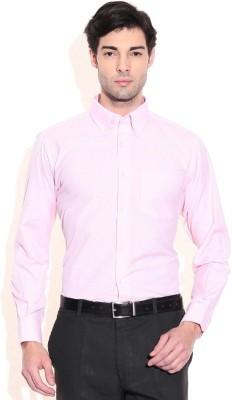 Siz Fashion Men's Solid Formal Pink Shirt