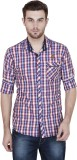 Alive Sport Men's Checkered Casual Red S...