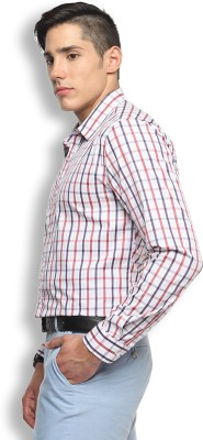 Brooklyn Blues Men's Checkered Casual Multicolor Shirt
