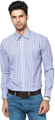 Saffire Men's Checkered Formal, Casual Multicolor Shirt