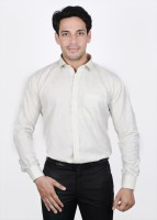 The Mods Formal Shirts (Men's) - The Mods Men's Solid Formal White Shirt