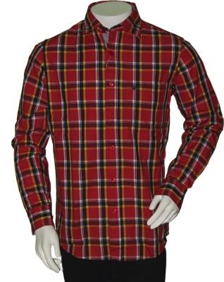 Bib &Tucker Men,s Checkered Casual Multicolor Shirt