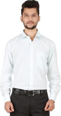 Stylo Shirt Men's Solid Casual Blue Shirt