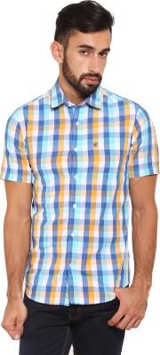 Classic Polo Men's Checkered Casual Multicolor Shirt