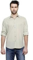 Desinvolt Formal Shirts (Men's) - Desinvolt Men's Solid Formal Grey Shirt