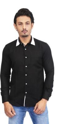 Success Men's Solid Casual Black Shirt