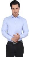 Devaa Formal Shirts (Men's) - Devaa Men's Solid Formal Blue Shirt