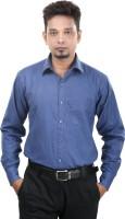Bellavita Formal Shirts (Men's) - Bellavita Men's Solid Formal Dark Blue Shirt