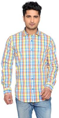 Thinc Men's Checkered Casual Multicolor Shirt