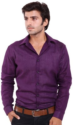 agarwal enterprices Men's Solid Casual Purple Shirt