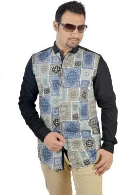MTN Men's Printed Casual Multicolor Shirt