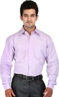 Speak Formal Shirts (Men's) - Speak Men's Striped Formal Purple Shirt