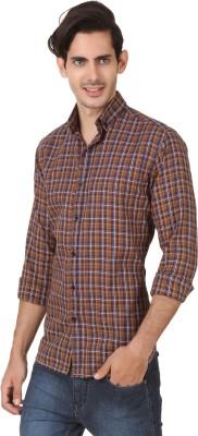 Smithsoul Men's Checkered Casual Multicolor Shirt