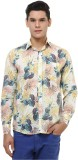 Oxolloxo Men's Printed Casual Multicolor...