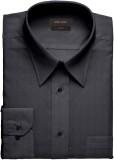John louis Men's Self Design Formal Grey...