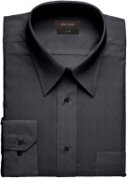 John Louis Formal Shirts (Men's) - John louis Men's Self Design Formal Grey Shirt