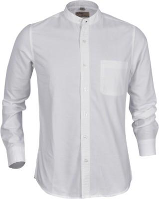 Aady Jones Men,s Solid Formal White Shirt