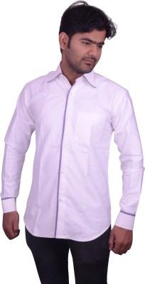 Miway Men's Chevron Casual Multicolor Shirt