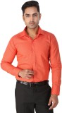 Regza Men's Checkered Formal Red Shirt