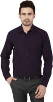 Shine Basics Formal Shirts (Men's) - Shine Basics Men's Solid Formal Purple Shirt
