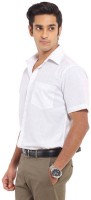 Formal Shirts (Men's) - RAGAM Men's Solid Formal White Shirt