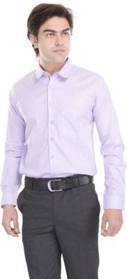 Cinchstore Men's Checkered Formal Pink Shirt