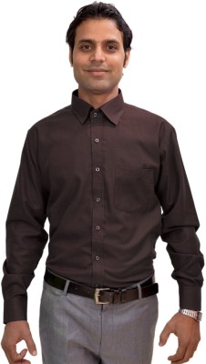 AVS Polo Men's Solid Casual Brown Shirt