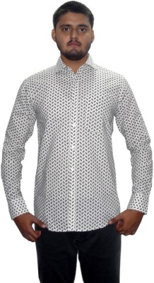 The GreeK Men's Printed Casual Multicolor Shirt