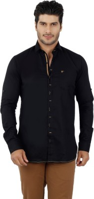 Get Taxed Men's Solid Casual Black Shirt