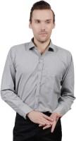 Jorzzer Roniya Formal Shirts (Men's) - Jorzzer Roniya Men's Solid Formal Grey Shirt