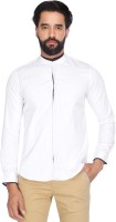 Vettorio Fratini By Shoppers Stop Formal Shirts (Men's) - Vettorio Fratini by Shoppers Stop Men's Solid Formal White Shirt