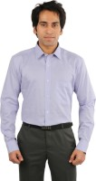 Desar Rana Formal Shirts (Men's) - Desar Rana Men's Solid Formal Purple Shirt