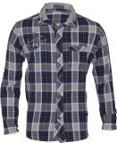 Lumber Boy Boys Checkered Casual Blue Sh...