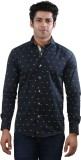 Just Differ Men's Graphic Print Casual B...