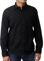 Spark Formal Shirts (Men's) - Spark Men's Solid Formal Black Shirt