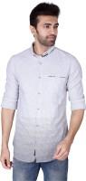 Mercury Men's Wear - Mercury Men's Printed Casual Grey Shirt