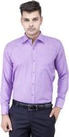 Frankline Formal Shirts (Men's) - FranklinePlus Men's Solid Formal Purple Shirt