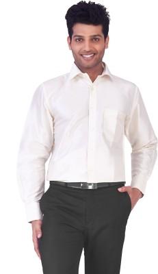 Mark Anderson Men's Solid Casual Grey Shirt