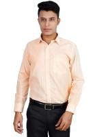 Helg Formal Shirts (Men's) - Helg Men's Solid Formal Linen Red Shirt