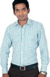 Kissan Men's Checkered Formal Multicolor...