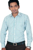 Kissan Formal Shirts (Men's) - Kissan Men's Checkered Formal Multicolor Shirt