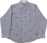 Little Stars Boys Printed Formal Linen G...