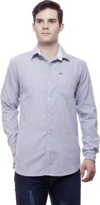 Akara Men's Solid Casual Light Blue Shirt