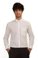 Akb Formal Shirts (Men's) - AKB Men's Solid Formal White Shirt