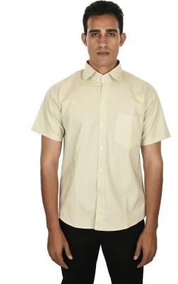 Venga Men's Solid Casual Green Shirt