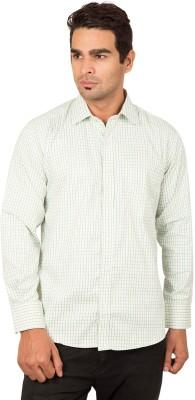 BlackBird Men's Checkered Formal Multicolor Shirt