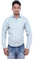 Kaylon Lifestyle Formal Shirts (Men's) - Kaylon Lifestyle Men's Solid Formal Light Blue Shirt