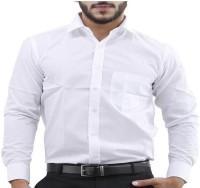 Chronax Formal Shirts (Men's) - CHRONAX Men's Solid Formal White Shirt
